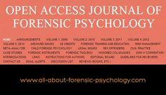 Forensic Psychology web hyperlink