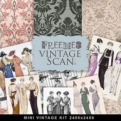 vintage images, printabl download, paper, vintage pictures, crafti printabl, vintag freebi, making cards, freebi crafti, vintage style