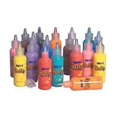 I made so many t-shirts with these classic puffy paints in the early 90s! #nostalgia #1990s #1980s #eighties #puffy #paint #crafts #fads #retro #childhood