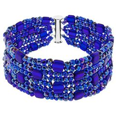 Into the Blue Bracelet | Fusion Beads Inspiration Gallery
