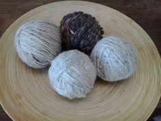 Faccio e Disfo: I trucchi della massaia: Wool Dryer Balls per l'asciugatrice