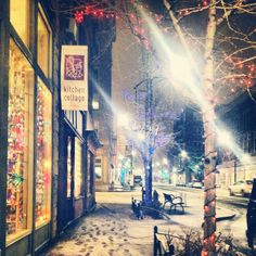 I've never been to Iowa but this picture is dreamy.  East Village, Des Moines, 12/19/12