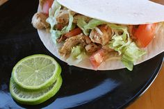 Lime Chicken Tacos Recipe