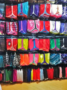 Nike running shorts = the best.