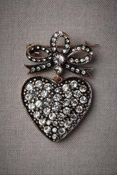❥ heart shaped bling