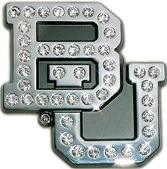 #Baylor crystal car emblem