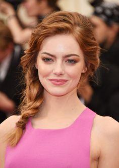 We still love Emma as a redhead.