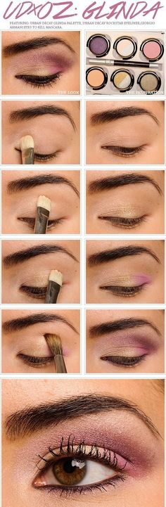 Makeup Tutorial for Brown Eyes. I really like how simple it is but still supah cute