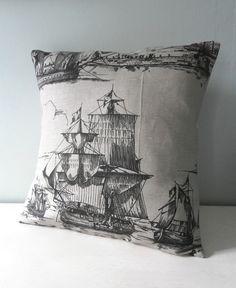 Ship pillow.