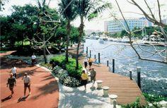 Riverwalk Park, Fort Lauderdale, Florida  http://www.riverwalkae.com/
