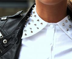Studs and leather