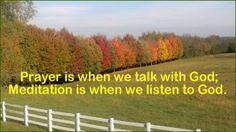 prayer is when we ta