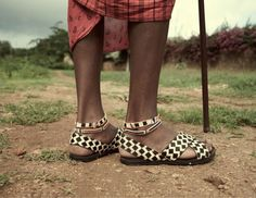 Aurora James, Designer - Creates the Tyre sandal, a style based on the footwear of the Maasai which is made from repurposed car tires.