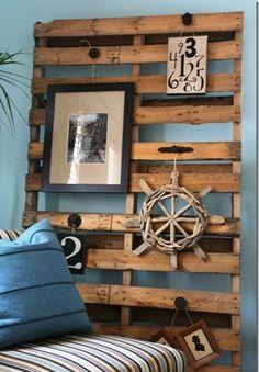Reciclando con palets decor, project, craft, idea, pallet walls, boy rooms, hous, pallets, diy
