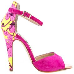 Leale - Hot Pink Suede by Kristin Cavallari