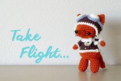 "free pattern : Fox Pattern by ""yarn treasures"""