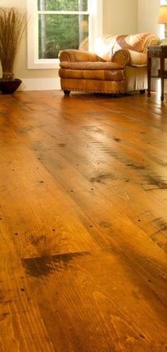 wood floor.