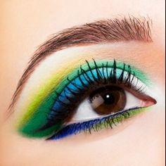 Neon Makeup Trends