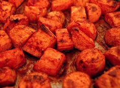 diet dinner, food, potatoes, healthi, roast sweet