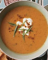 Spicy Chickpea Soup Recipe on Food & Wine