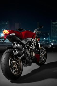 ♂ Motorcycle black and red