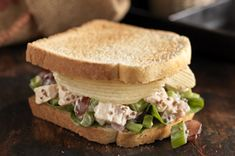 Crunchy Potato Chip-Chicken Salad Sandwich recipe