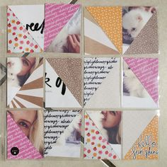 caylee project life with paislee press goodies by @Liz Tamanaha