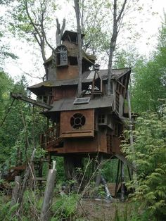 Steampunk Tree house
