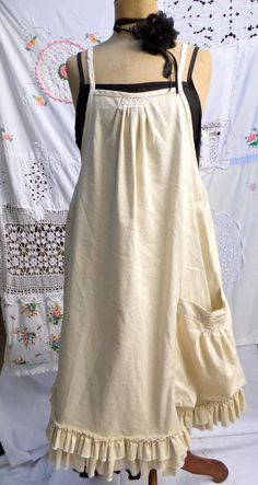 An apron to sew