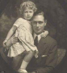 King George the VI and Princess Elizabeth