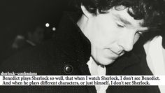 """""""This is what makes Benedict, in my opinion, the greatest actor of this generation. No matter what he's doing (be it television, film, theater, or radio) he transforms in such a way that you only see the character. There are no traces of Ben in those moments, only the person he's portraying. This is one of the main reasons why it's such a great joy to watch him."""" < Preach it sista!"""