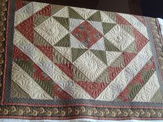 Diana's radiant star by Charlotte Peterson Enchanted Quilting, via Flickr