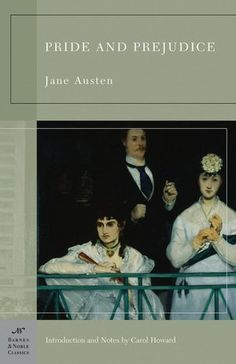 Pride and Prejudice, w/ A Manet Cover.... Interesting