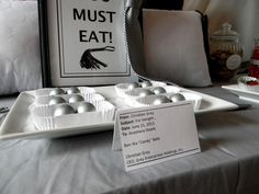 Fifty Shades of Grey party food