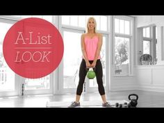 'When You Think You Can't' Workout | A-List Look With Valerie Waters | This #workout is especially designed for those days you just don't thing you can do it.  It's going to tone you from head to toe and keep you on your A-List path!