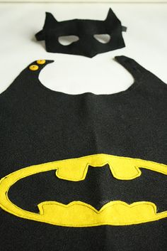 Super hero party with cape and mask template