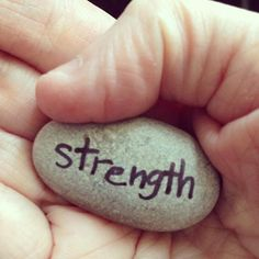 Stones of Strength : Children's Trauma & Loss Art Therapy Group #wherewecreate