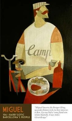 Riccardo Guasco, Italian Artist, Captures unaware people at restaurants in Barcelona  | Published: Jan 20, 2012