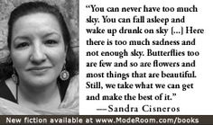 an introduction to the literature by sandra cisneros Sandra cisneros (born december 20  by carmen lomas garza introduction by sandra cisneros  contemporary latino/a literature and the pursuit of a readership on .