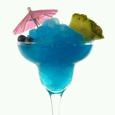 SHARK ATTACK... tastefullysimple.com/web/jfaruzzi INGREDIENTS  Blueberry Pineapple Margarita Mix 3 cups water 1 cup blue curacao 3/4 cup blueberry schnapps or blueberry vodka 3 cups lemonade  INSTRUCTIONS  Combine first 2 ingredients in bucket; stir to dissolve. Add remaining ingredients; freeze 10-12 hours. Garnish with plastic or gummy sharks.