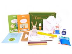 Kiwi crate - buy or gift a subscription to send a box of creative/art/pretend activities to a kid each month