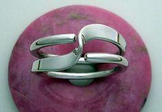 2 Turn Wave Energy Ring  It is one of the Energy Rings inspired by Nikola Tesla.