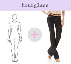 the best jeans for hourglass figures