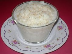 Arroz con leche - I haven't had this in a long time.