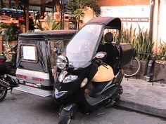 A not so typical trike in Angeles City Philippines #trikes #angelescity #balibago #culture #filipino