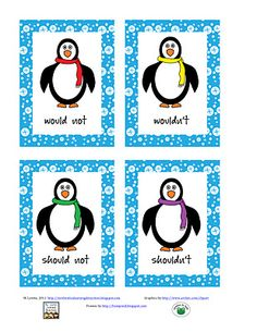 very cute contraction activity - free!