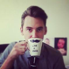 Like a boss! #Coffee Mug