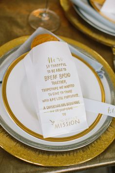 donation favor idea - event design by Sweetgrass Social - photo by Caroline Ro http://www.ruffledblog.com/charity-inspired-wedding-ideas/