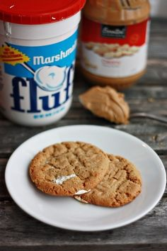 Fluffernutter Cookies - SERIOUSLY???  YES!!!