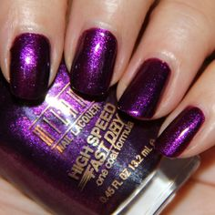 Milani High Speed Fast Dry Nail Lacquer - Purple Rush